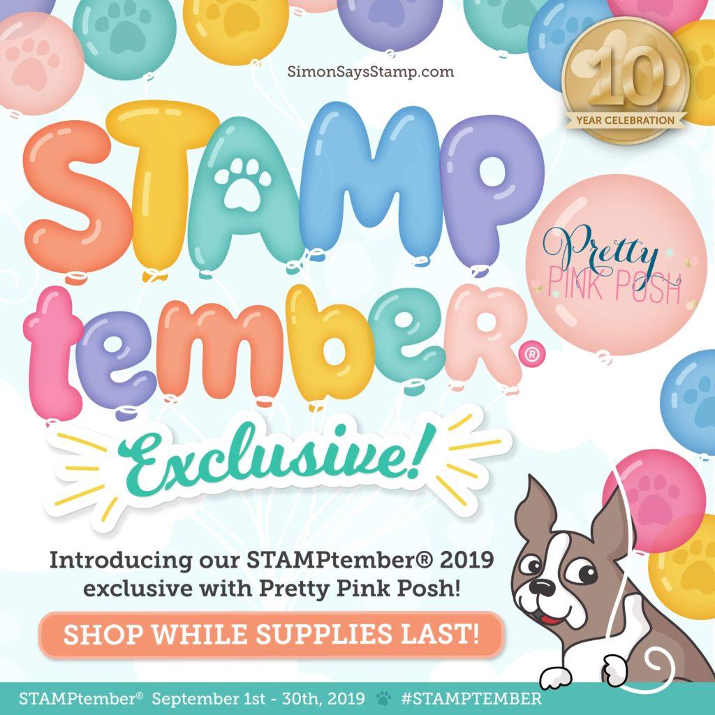 Pretty Pink Posh: Pretty Pink Posh 2019 Stamptember Exclusive Set